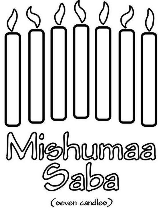 December Holiday Kwanzaa Coloring Pages Kwanzaa Coloring Pages
