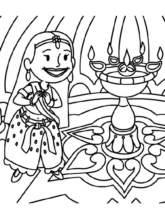 free diwali coloring pages diwali colouring pages family to