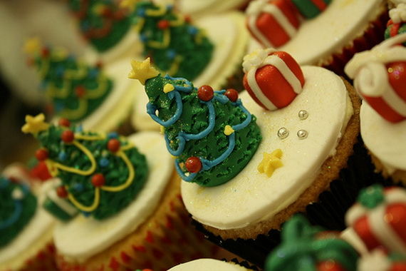 Christmas Decorations Cupcakes Easy : Easy and creative christmas cupcake decorating ideas