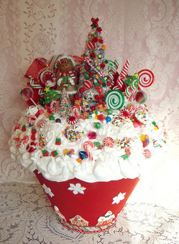 45 easy and creative christmas cupcake decorating ideas Creative christmas decorations