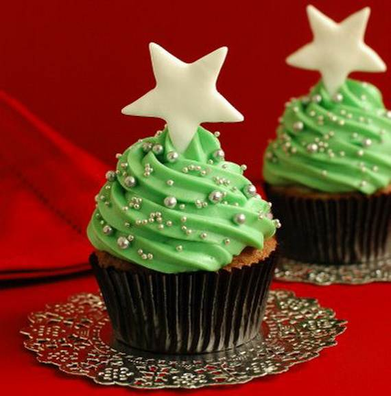 Easy Christmas Cupcake designs and Decorating Ideas ...