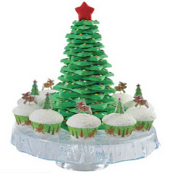 Easy Christmas Cupcake designs and Decorating Ideas_31