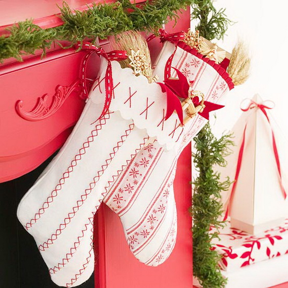 Easy Unique Handmade Christmas Stockings Ideas Family