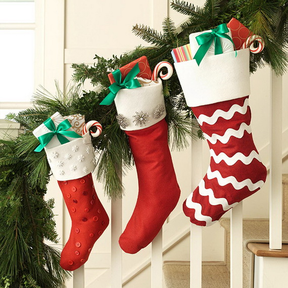 easy & unique handmade christmas stockings ideas - family holiday