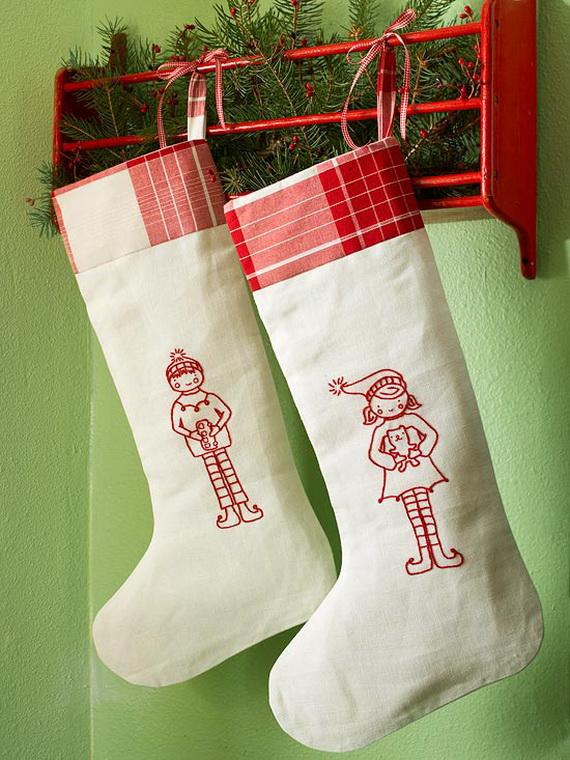 handmade christmas stocking best home design ideas. Black Bedroom Furniture Sets. Home Design Ideas