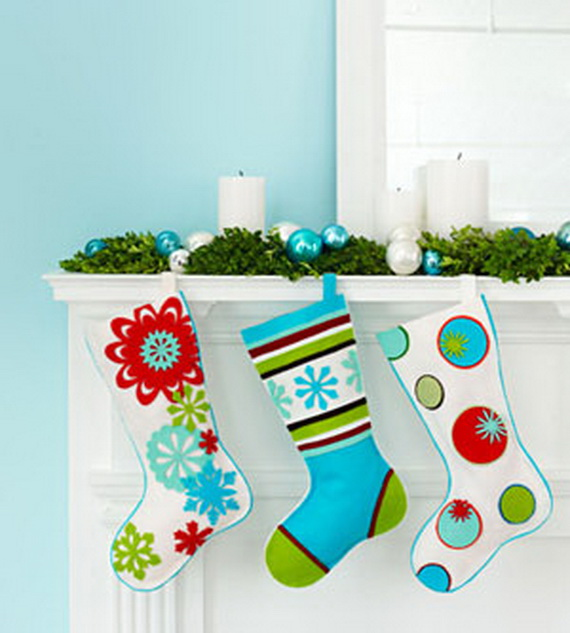 source pinterest - Homemade Christmas Stockings