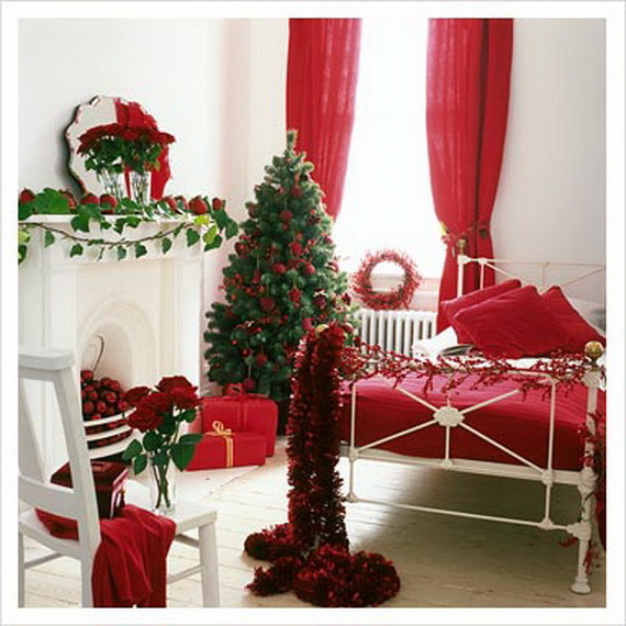 source pinterest - How To Decorate Your Bedroom For Christmas