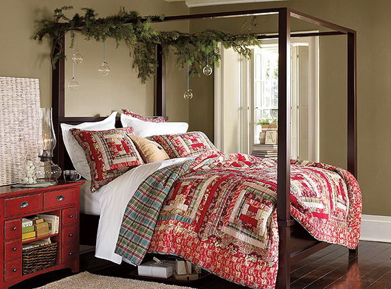 Elegant Interior Theme Christmas Bedroom Decorating Ideas  ~ 142958_Christmas Decoration Ideas For Your Bedroom