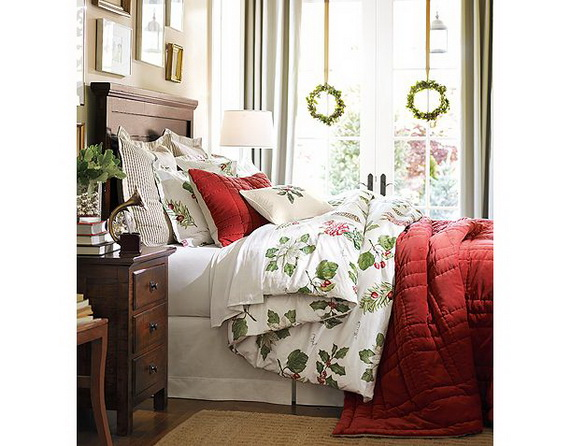 Christmas Bedrooms elegant interior theme christmas bedroom decorating ideas - family