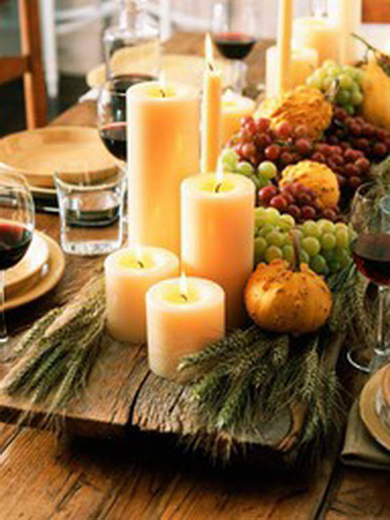 Autumn Table Setting Ideas 17 woody measures Related Posts