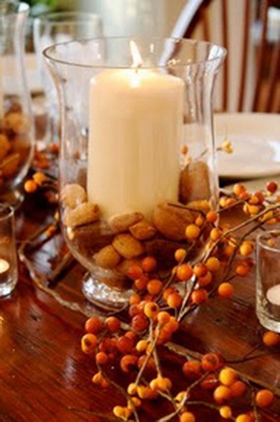 Elegant fall and autumn centerpieces decoration ideas - Elegant fall decorating ideas ...
