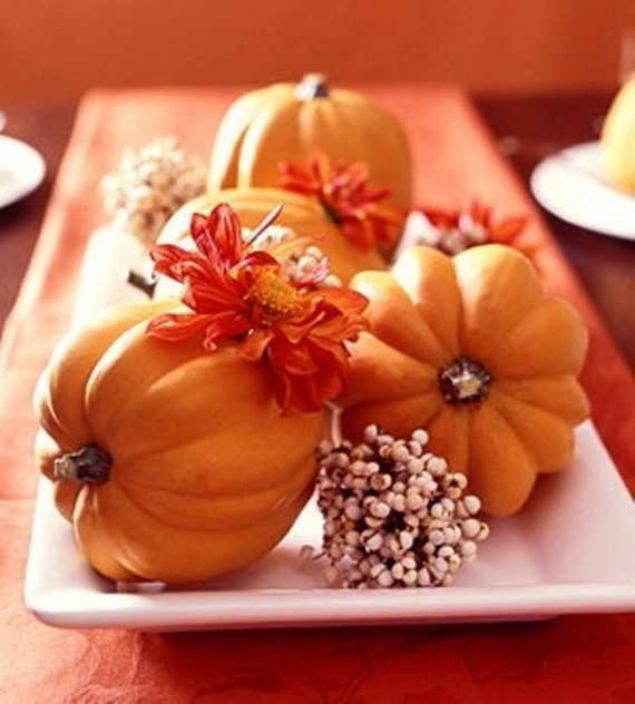 Elegant Fall And Autumn Centerpieces Decoration Ideas Family