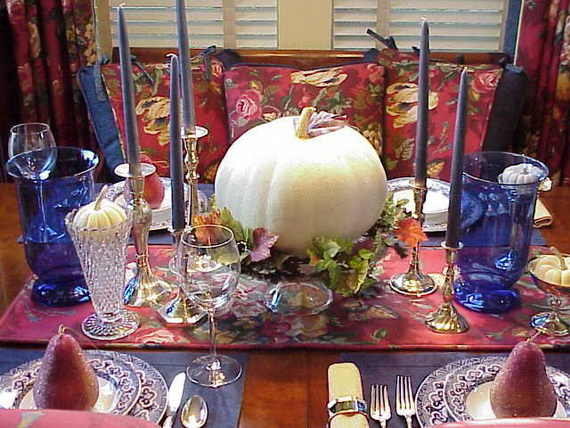 Elegant fall and autumn centerpieces decoration ideas