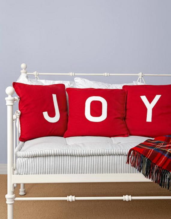 Gorgeous Handmade Christmas Pillow Inspiration - family holiday ...