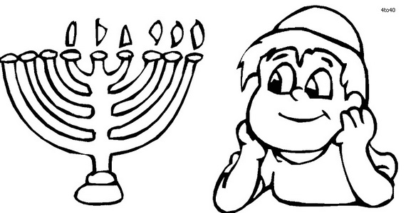 early childhood jewish coloring pages - photo#34