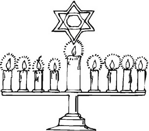 Hanukkah: Star of David Coloring Pages - family holiday ...