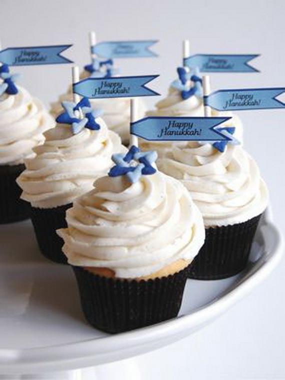 Edible Cake Images Kosher : Hanukkah and Jewish Edible Cupcake Decorating Ideas ...