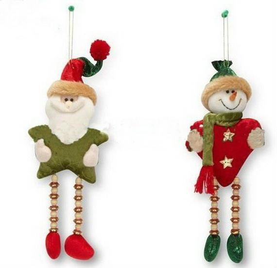 Homemade Christmas Door Hanger Decoration Ideas - family holiday ...