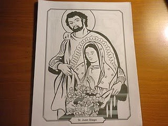 Disney Coloring Pages Holiday : Immaculate conception coloring pages family holiday.net guide to