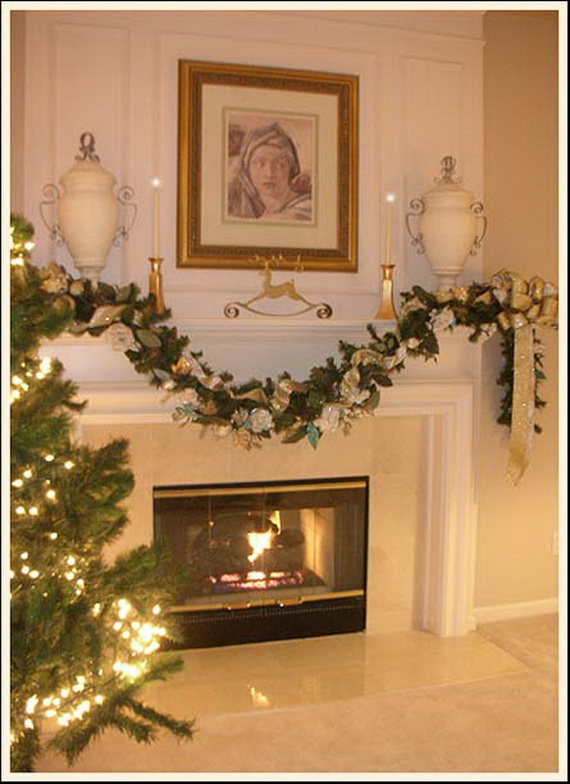 48 inspiring holiday fireplace mantel decorating ideas for Mantel decorating tips