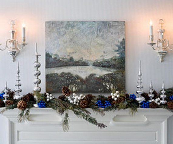 Family Living Room Design Ideas That Will Keep Everyone Happy: 48 Inspiring Holiday Fireplace Mantel Decorating Ideas
