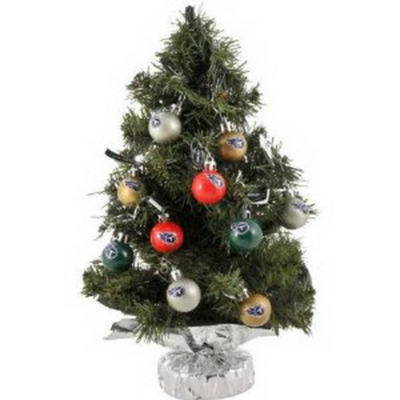 Miniature Tabletop Christmas Tree Decorating Ideas - family ...
