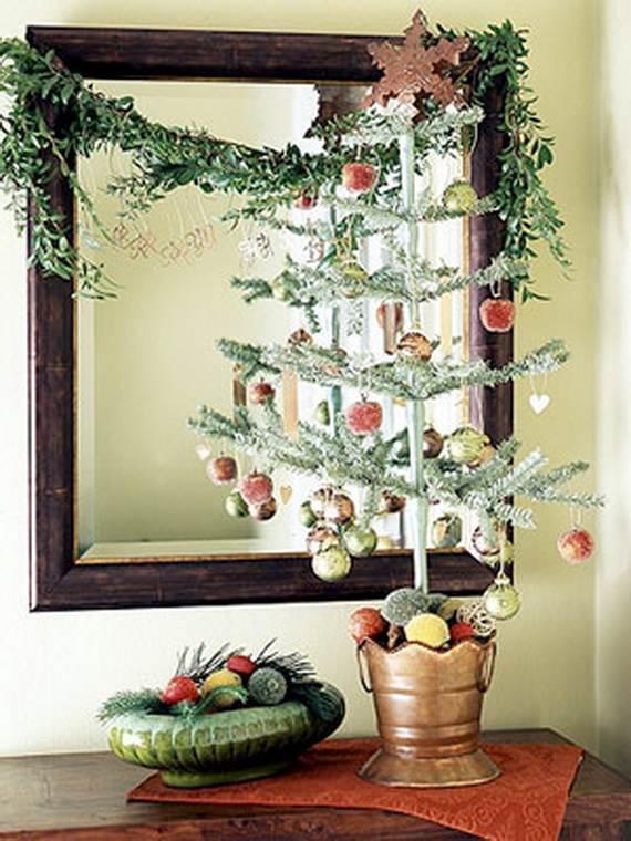 Beautiful Tabletop Christmas Trees Decorating Ideas