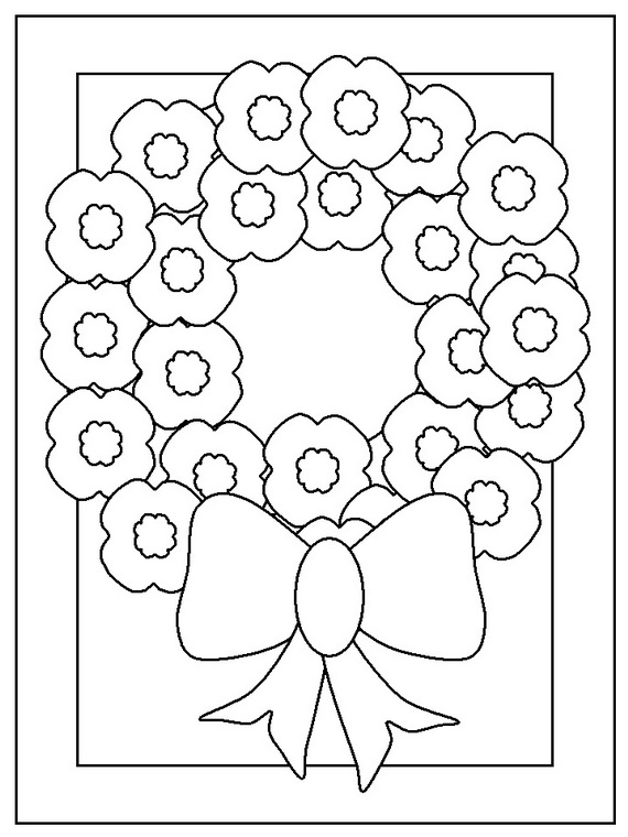 More Coloring Pages for Veterans