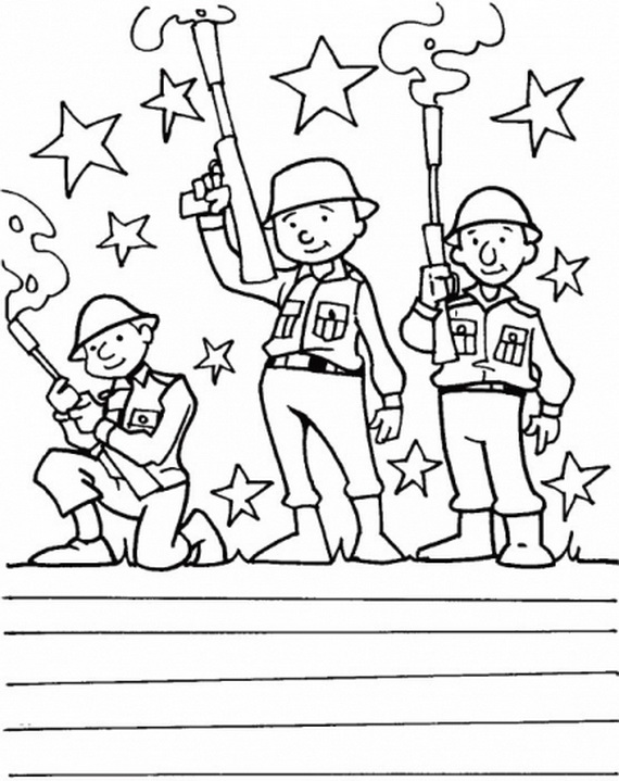 More Coloring Pages for Veterans Day - family holiday.net/guide to ...