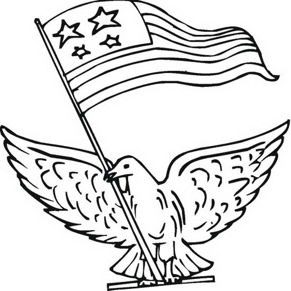 More Coloring Pages for Veterans Day family holidaynetguide to
