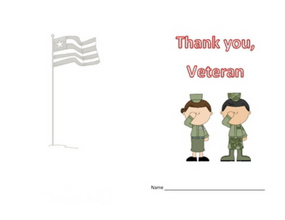 ... Liberty Images Was Printed On The Veterans Day Invitation To The Party