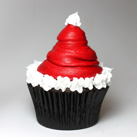 Simple Cupcake Design : Simple and Creative Christmas Themed Cupcake Designs and ...