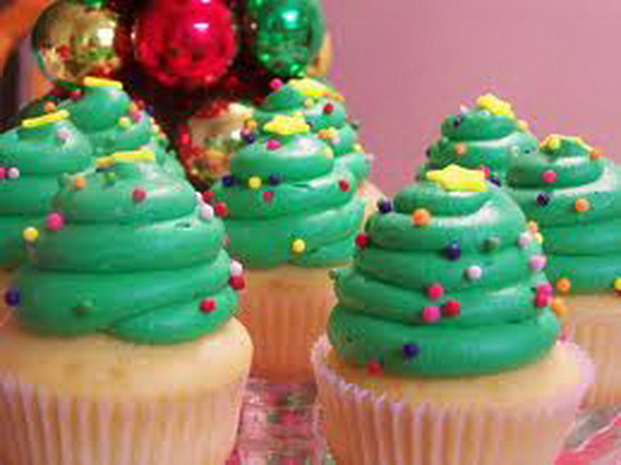 source; pinterest & Simple and Creative Christmas Themed Cupcake Designs and Decorating ...