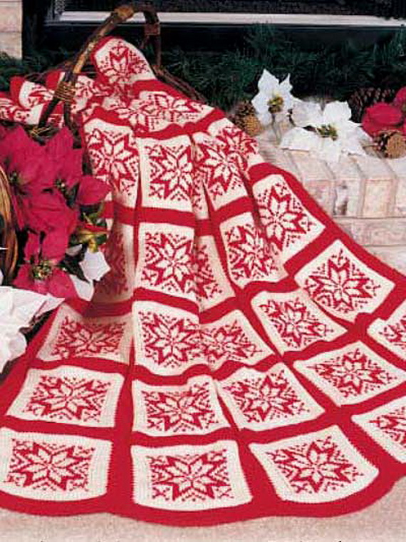 Sparkly Christmas Granny Afghan Family Holidaynetguide To Family