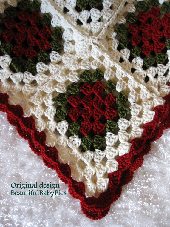 Christmas Tree Skirt Crochet