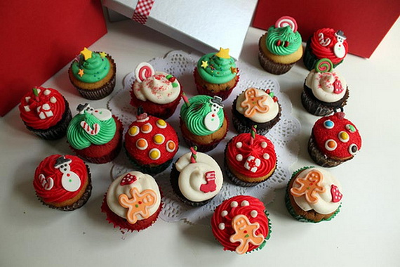 The Cutest Christmas Cupcake Ideas Ever | Family Holiday