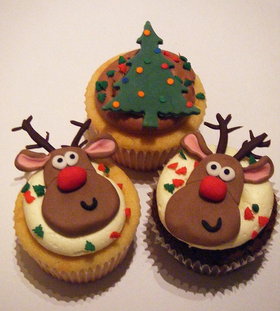 Christmas Cupcake Design : The Cutest Christmas Cupcake Ideas Ever - family holiday ...
