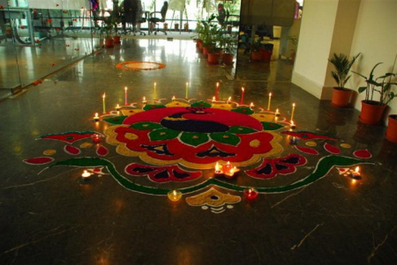 Diwali decoration ideas top diwali rangoli designs family to family Home decorations for diwali