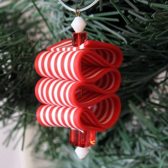 Lindsaylohan unique handmade polymer clay christmas