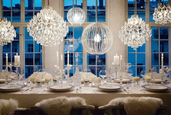 images source - Blue White Christmas Decorating Ideas