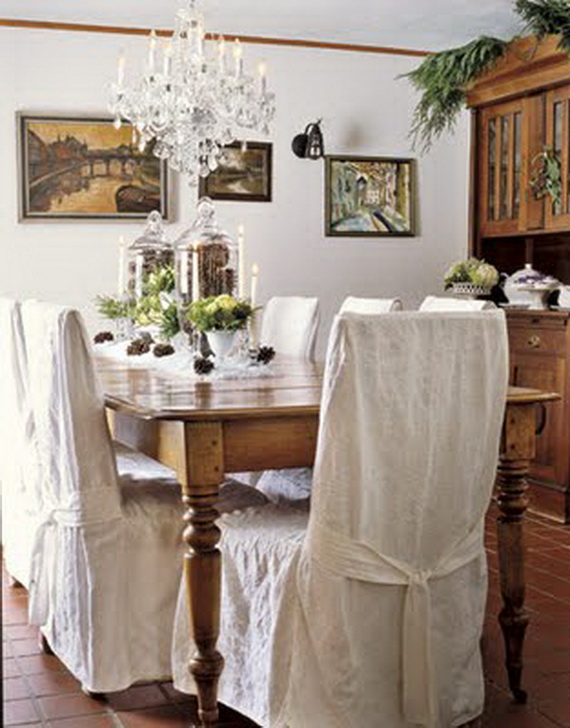 images source - White Christmas Decorating Theme