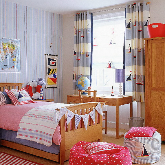 childrens bedrooms. source  pinterest Christmas Decoration Ideas for Children s Bedrooms family