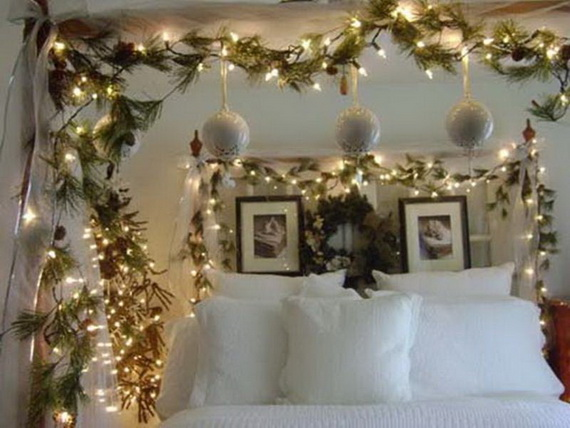 your child to decorate his bedroom for christmas source pinterest - How To Decorate Your Bedroom For Christmas