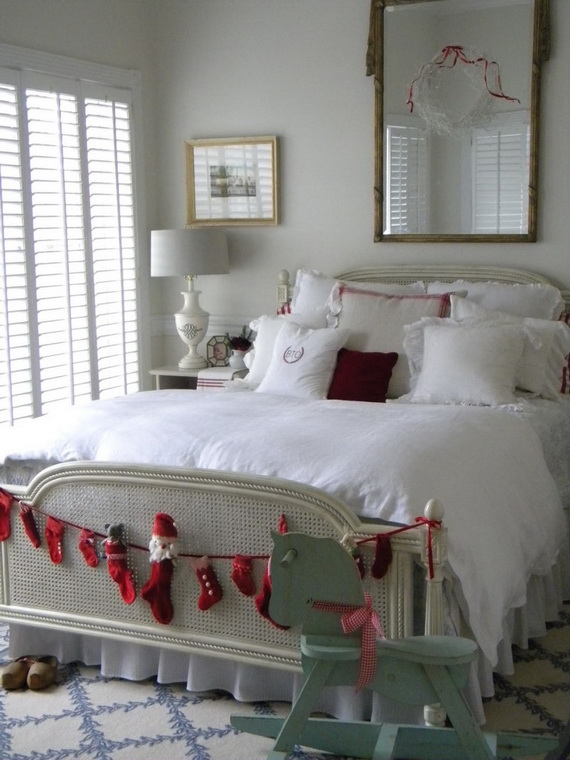 decorate his bedroom for christmas source pinterest
