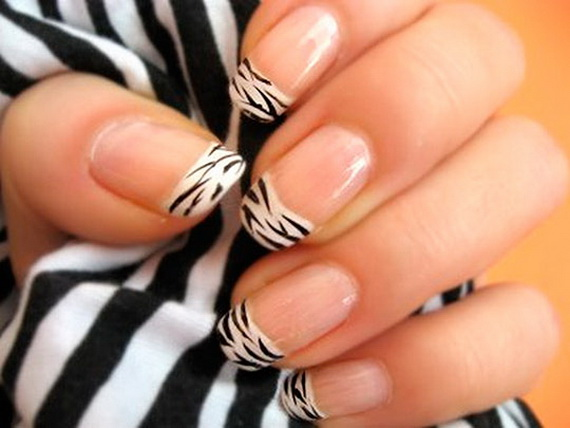 Creative hot fashion new year eve nail art designs 2013 family images source prinsesfo Gallery