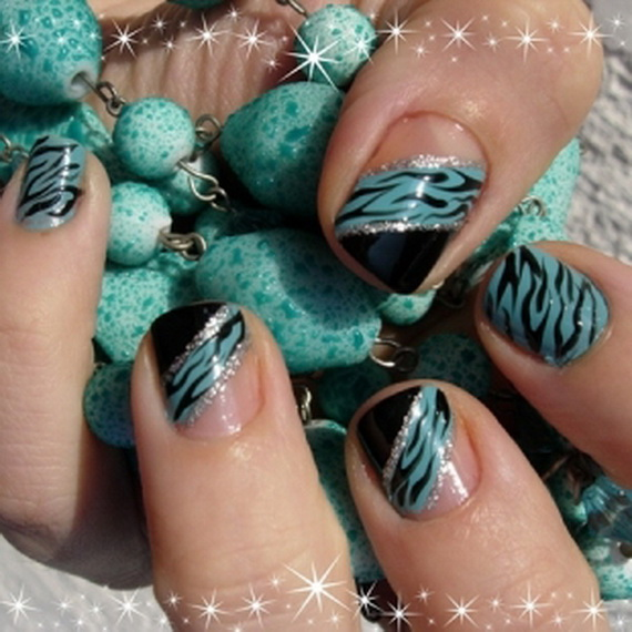 Easy Fashionable New Years 2013 Nail Art Designs To Master ...