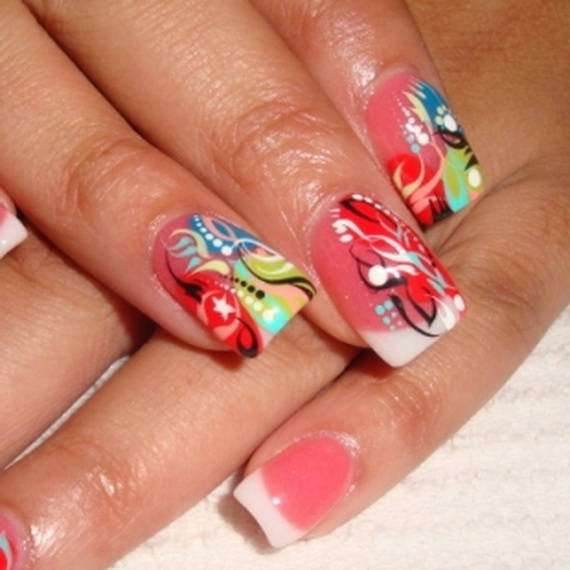 Nail Art New: Easy Fashionable New Years 2013 Nail Art Designs To Master