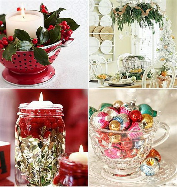 Unique kitchen decorating ideas for christmas family Creative christmas decorations