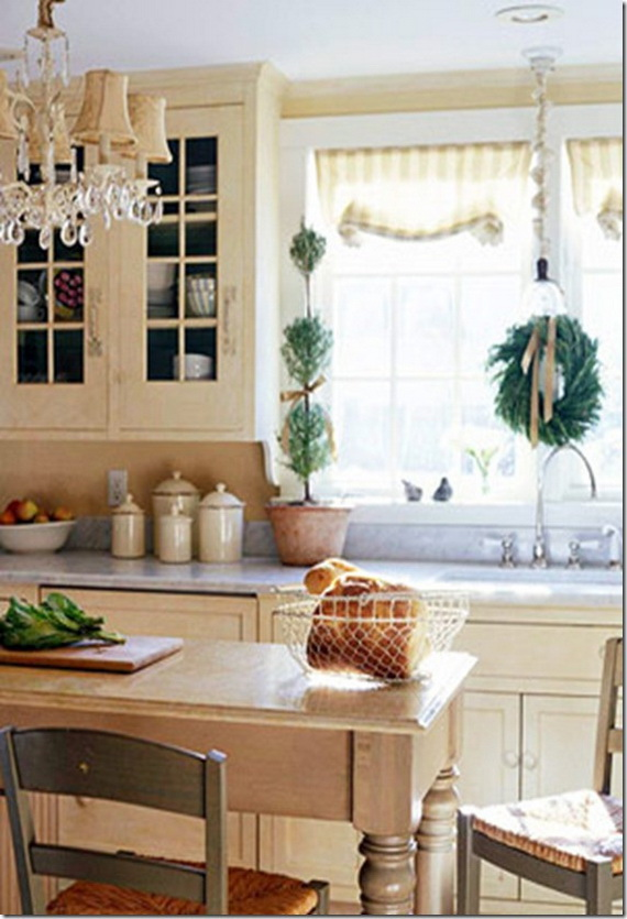source pinterest - Christmas Kitchen Decor