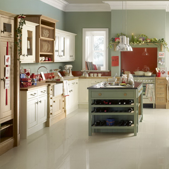 Kitchen Design Ideas For Small Kitchens November 2012: Unique Kitchen Decorating Ideas For Christmas